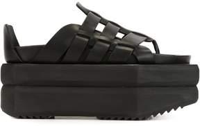 Rick Owens platform gladiator sandals