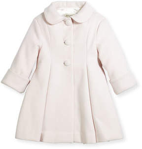 Helena Wool Topper Coat, Pink, Size 2-6