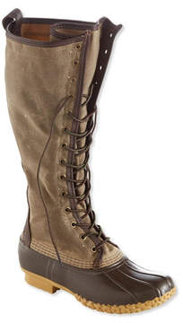 L.L. Bean Signature Women's Waxed-Canvas Maine Hunting Shoe, 16