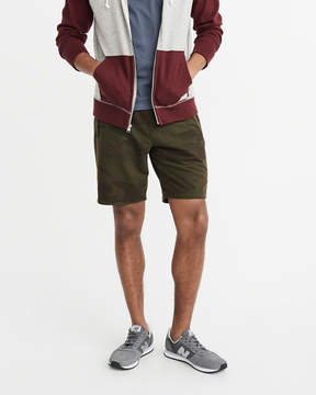 Abercrombie & Fitch Stretch Terry Shorts