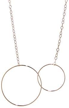 ginette_ny Circle & Baby Circle Necklace