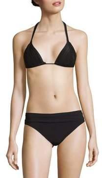 Pilyq Triangle String Bikini Top