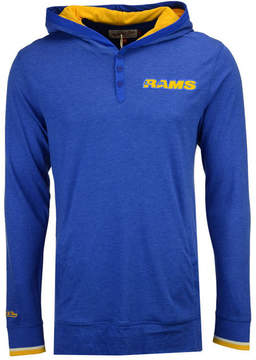 Mitchell & Ness Men's Los Angeles Rams Seal The Win Long Sleeve Hoodie
