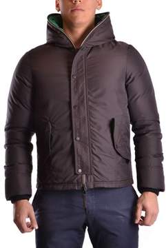 Duvetica Men's Brown Polyamide Outerwear Jacket.