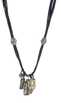 Alexis Bittar Women's Lucite Charm Necklace