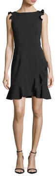 Donna Morgan Body Con Ruffle Dress