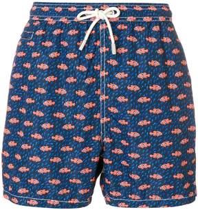 MC2 Saint Barth clownfish print swim shorts