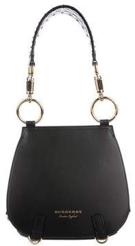 Burberry Double Flap Saddle Bag