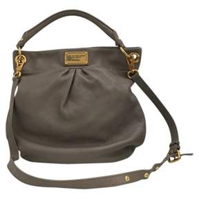 Marc by Marc Jacobs 100% Authentic Classic Q Hillier Leather Hobo Bag