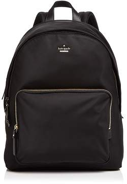 Kate Spade Tech Backpack - BLACK/GOLD - STYLE