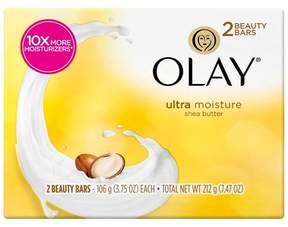 Olay Ultra Moisture with Shea Butter 2-Bar Soap - 3.75oz