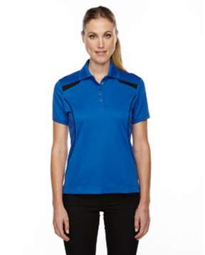 Ash City - Extreme Ladies' Eperformance Tempo Recycled Polyester Performance Textured Polo - NAUTICL BLUE 413 - M 75112