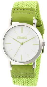Crayo Symphony Collection CRACR2702 Unisex Watch with Nylon Strap