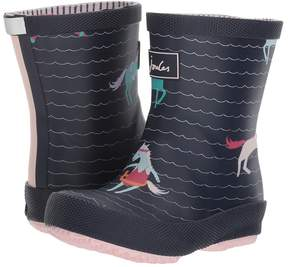 Joules Kids Printed Welly Baby Rain Boot Girls Shoes