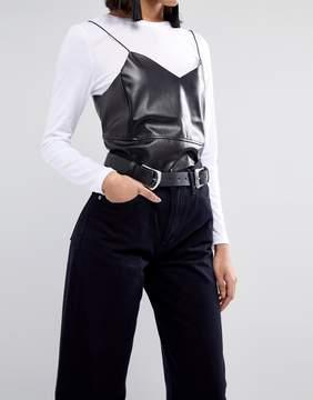 Asos Double Buckle Clean Jeans Belt
