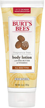 Fragrance Free Body Lotion by Burt's Bees (6oz Lotion)