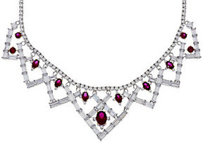 Elizabeth Taylor As Is The 6.40 cttw Simulated Ruby Necklace