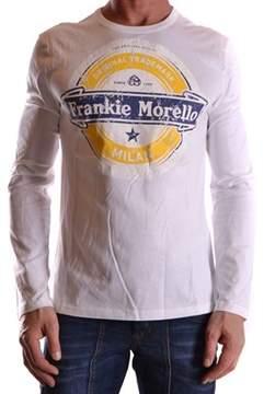 Frankie Morello Men's White Cotton T-shirt.
