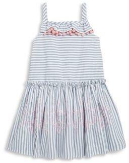 Halabaloo Little Girl's & Girl's Stripe Dress