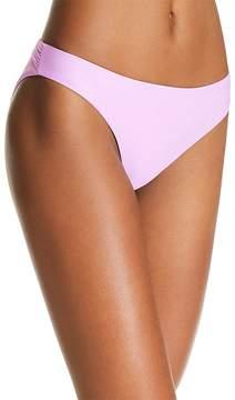 Pilyq Isla Basic Ruched Side Bikini Bottom