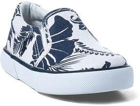 Ralph Lauren Toddler Bal Harbour Canvas Ez Sneaker