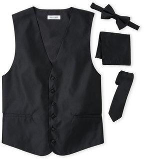 Pierre Cardin 4-Piece Satin Vest Set