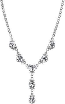 1928 Crystal Y Necklace