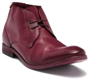 H By Hudson Osbourne Drum Dye Leather Chukka Boot