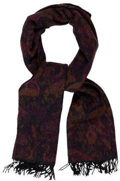 Kenzo Abstract Patterned Scarf