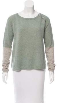 Zadig & Voltaire Cashmere Colorblock Sweater
