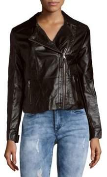 C&C California Faux Leather Moto Jacket