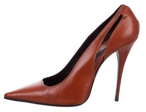 Narciso Rodriguez Pointed-Toe Cutout Pumps