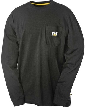 Caterpillar Trademark Pocket Long Sleeve Tee (Men's)