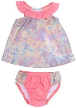 Little Marc Jacobs floral print bikini set