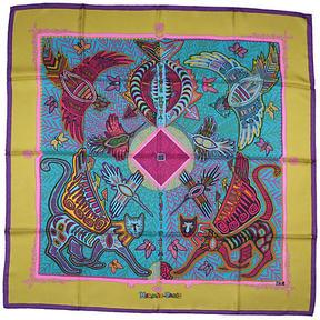 One Kings Lane Vintage Hermès Legende Kuna Scarf w/Box