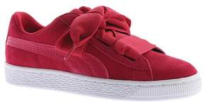 Puma Girls' Suede Heart Jr. Sneaker