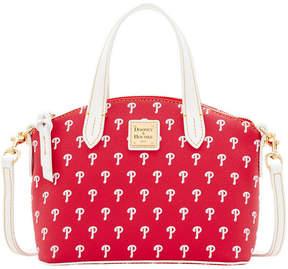 Dooney & Bourke Philadelphia Phillies Ruby Mini Crossbody Satchel - RED/WHITE - STYLE