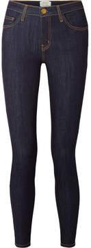 Current/Elliott The High Waist Skinny Jeans - Dark denim