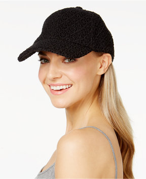 INC International Concepts Eyelet Baseball Cap, Created for Macy's