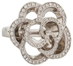 Di Modolo 18K Diamond Fiamma Cocktail Ring