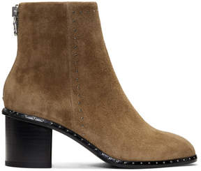Rag & Bone Tan Suede Willow Stud Boots
