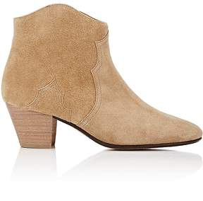 Isabel Marant Women's Dicker Suede Ankle Boots