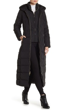 Cole Haan Quilted Down Long Coat