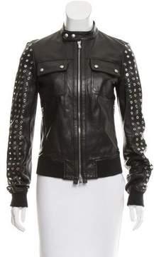 Diesel Black Gold Long Sleeve Studded Jacket