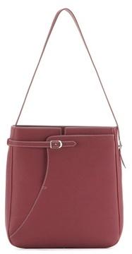 Loro Piana Lune Haute Odessa leather shoulder bag