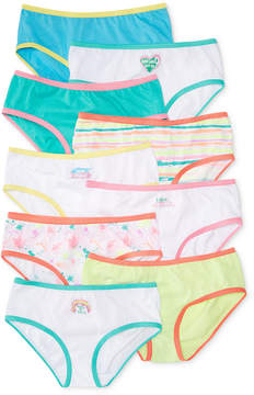Maidenform 9-Pk. Art Print Cotton Hipster Underwear, Little Girls (4-6X) & Big Girls (7-16)