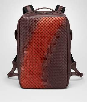 Bottega Veneta Dark Barolo Intrecciato Nappa Galaxy Brick Backpack