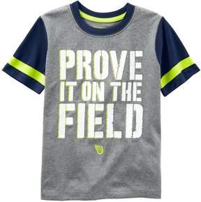 Osh Kosh Boys 4-8 Prove It On The Field Graphic Tee