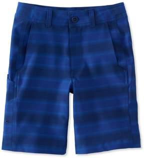 L.L. Bean L.L.Bean Boys' Land-to-Sea Shorts, Stripe