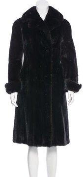 Christian Dior Mink Long Coat